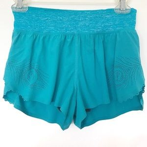 Lululemon Weightless Split Shorts - Teal/Blue